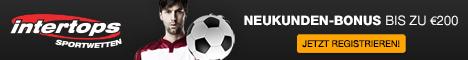 Intertops Wettbüro - Online Wetten - Online Sportwetten