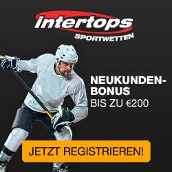 Neukundenbonus bei Intertops Sportwetten