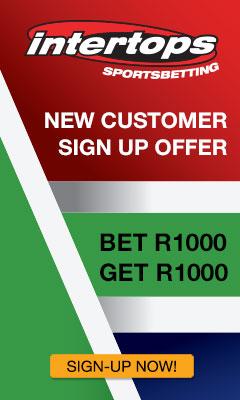 Intertops South Africa Bonus Banner 240x400